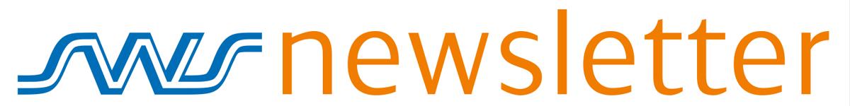 Schriftzug: SWS Newsletter